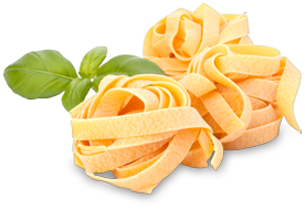 Brot, Nudeln, Teigwaren aus Italien